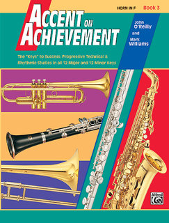 Accent on Achievement, Book 3 - Horn in F Buch