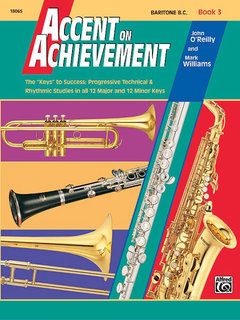 Accent on Achievement, Book 3 - Baritone B.C. Buch