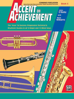 Accent on Achievement, Book 3 - Combined Percussion?S.D., B.D., Access., Timp. & Mallet Percussion Buch