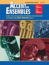 Accent on Ensembles, Book 1 - B-Flat Clarinet, Bass...