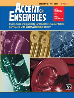 Accent on Ensembles, Book 1 - Bassoon, Electric Bass Buch
