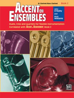 Accent on Ensembles, Book 2 - B-Flat Clarinet/Bass Clarinet Buch