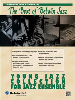 Best of Belwin Jazz: Young Jazz Collection for Jazz Ensemble - 1st Baritone T.C.