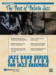 Best of Belwin Jazz: Jazz Band Collection for Jazz Ensemble - 1st Trombone