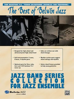 Best of Belwin Jazz: Jazz Band Collection for Jazz Ensemble - 2nd Baritone Horn