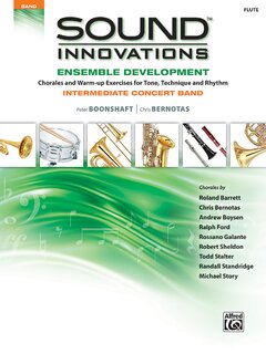 Sound Innovations for Concert Band: Ensemble Development - E-Flat Alto Saxophone 1 Buch