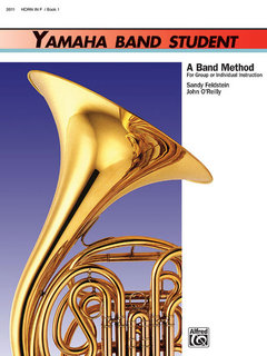 Yamaha Band Student, Book 1 - Horn in F Buch