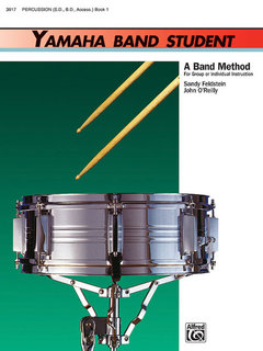 Yamaha Band Student, Book 1 - Percussion?Snare Drum, Bass Drum & Accessories Buch