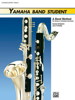Yamaha Band Student, Book 2 - B-Flat Bass Clarinet Buch