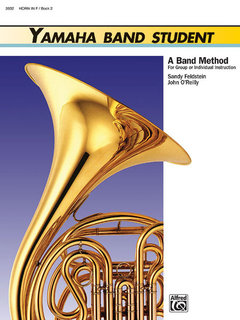 Yamaha Band Student, Book 2 - Horn in F Buch