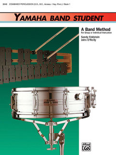 Yamaha Band Student, Book 1 - Combined Percussion?S.D., B.D., Access., Keyboard Percussion Buch
