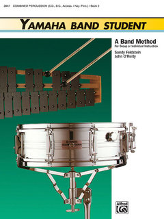 Yamaha Band Student, Book 2 - Combined Percussion?S.D., B.D., Access., Keyboard Percussion Buch