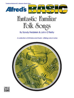 Fantastic Familiar Folk Songs - Bass Clef Instruments (Trombone, Baritone B.C., Electric Bass) Buch