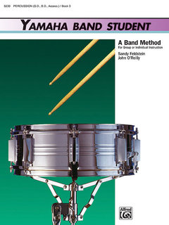 Yamaha Band Student, Book 3 - Percussion?Snare Drum, Bass Drum & Accessories Buch