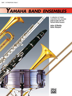 Yamaha Band Ensembles, Book 1 - Tenor Sax Buch