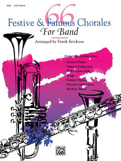 66 Festive and Famous Chorales for Band - 1st Clarinet Buch