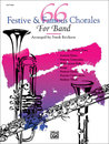 66 Festive and Famous Chorales for Band - 1st F Horn Buch