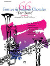 66 Festive and Famous Chorales for Band - 2nd F Horn Buch