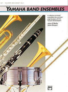 Yamaha Band Ensembles, Book 3 - Clarinet, Bass Clarinet Buch