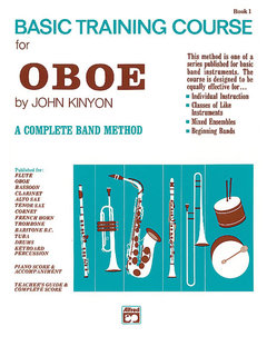 John Kinyons Basic Training Course, Book 1 - Oboe Buch