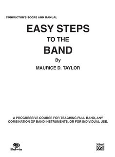 Easy Steps to the Band - Conductor Buch