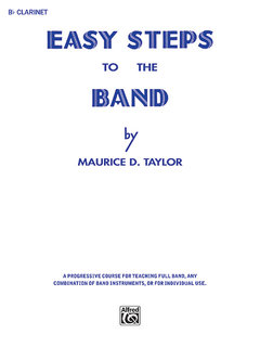 Easy Steps to the Band - B-Flat Clarinet Buch