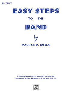 Easy Steps to the Band - B-Flat Cornet (Trumpet) Buch