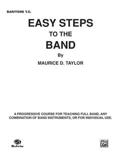 Easy Steps to the Band - Baritone T.C. Buch
