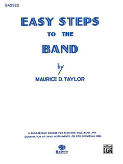 Easy Steps to the Band - Bass (Tuba) Buch