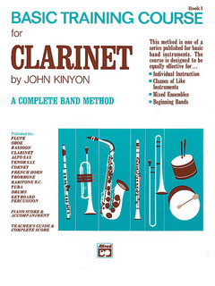 John Kinyons Basic Training Course, Book 1 - Clarinet Buch