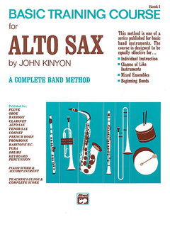 John Kinyons Basic Training Course, Book 1 - Alto Sax Buch