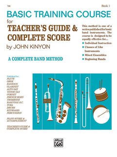 John Kinyons Basic Training Course, Book 1 - French Horn Buch