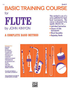 John Kinyons Basic Training Course, Book 2 - Flute Buch