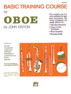 John Kinyons Basic Training Course, Book 2 - Oboe Buch