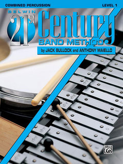 Belwin 21st Century Band Method, Level 1 - Combined Percussion Buch