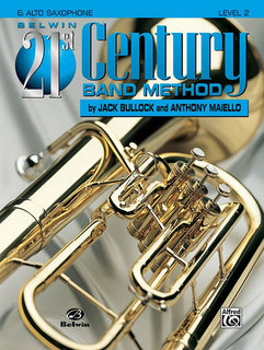 Belwin 21st Century Band Method, Level 2 - E-Flat Alto Saxophone Buch