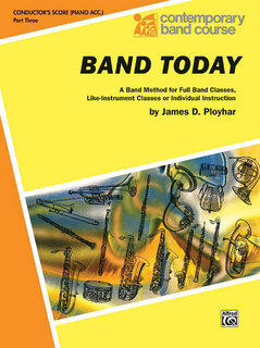 Band Today, Part 3 - Conductor (Piano Acc.) Buch