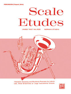 Scale Etudes - Percussion (Timpani, Bells) Buch