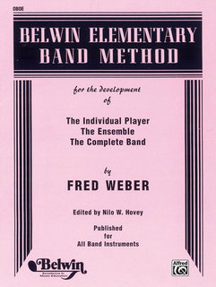 Belwin Elementary Band Method - Oboe Buch