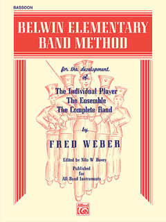 Belwin Elementary Band Method - Bassoon Buch