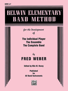 Belwin Elementary Band Method - Horn in F Buch
