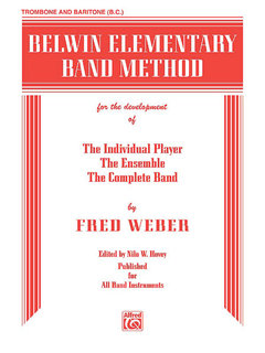 Belwin Elementary Band Method - Trombone (Bass Clef) Buch