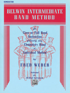 Belwin Intermediate Band Method - Conductor Buch