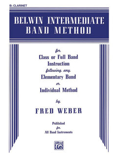 Belwin Intermediate Band Method - B-Flat Clarinet Buch