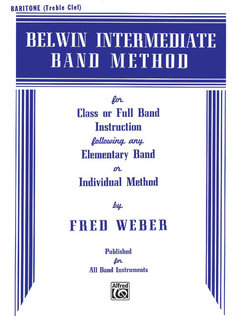 Belwin Intermediate Band Method - Baritone T.C. Buch