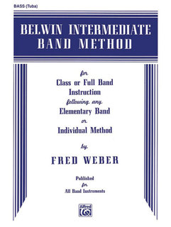 Belwin Intermediate Band Method - Bass (Tuba) Buch