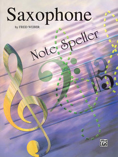 Note Spellers - Saxophone Buch