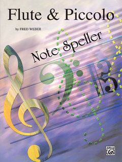Note Spellers - Flute & Piccolo Buch