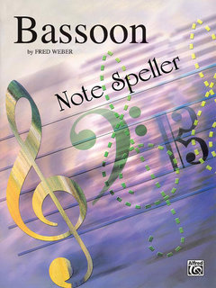 Note Spellers - Bassoon Buch