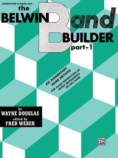Belwin Band Builder, Part 1 - Conductor Buch